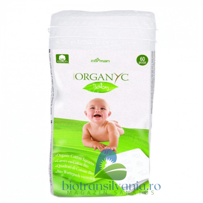 Dischete Baby Patrate din Bumbac, 60 buc Cotton 0