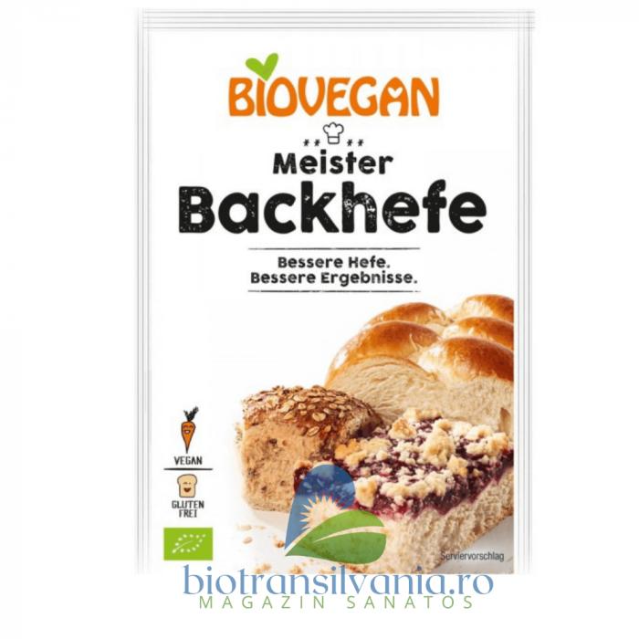 Drojdie BIO Uscata Fara Gluten, 7g Biovegan 0