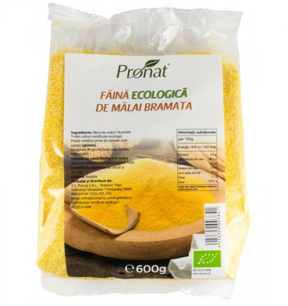 Faina Ecologica de Malai Bramata 600gr. Pronat 0