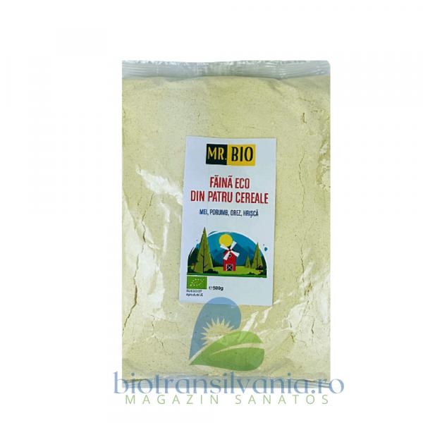 Faina Bio din Patru Cereale Fara Gluten 500gr, Mr. Bio 2