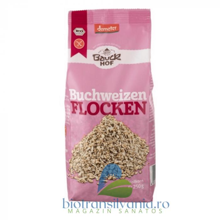 Fulgi BIO de Hrisca Integrali Fara Gluten, 250g Bauck Hof 0