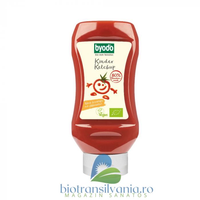 Ketchup Bio pentru Copii cu 80% Tomate Fara Gluten, 300ml Byodo [0]