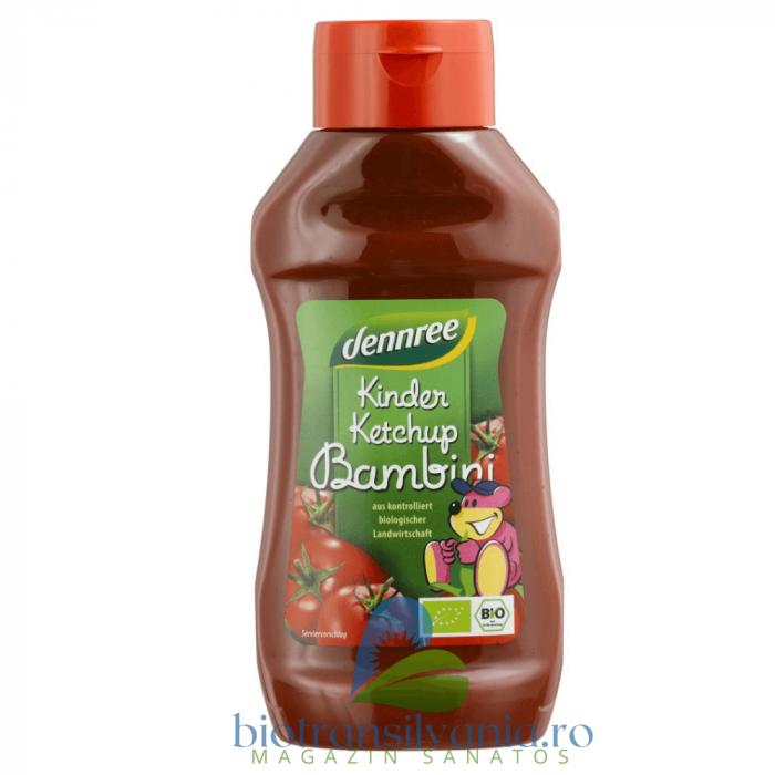 Ketchup BIO pentru Copii Indulcit cu Nectar de Agave, 500ml Dennree [0]