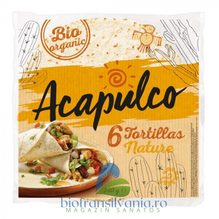 Lipii BIO Tortilla, 6 buc Acapulco 0