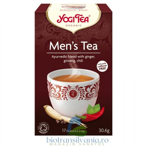 Ceai BIO pentru barbati 17 pliculete, 30.6g Yogi Tea 0