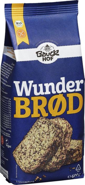 Mix pentru paine integrala cu seminte FARA GLUTEN [0]