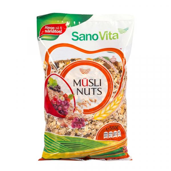 Musli nuts 500g Sanovita 0