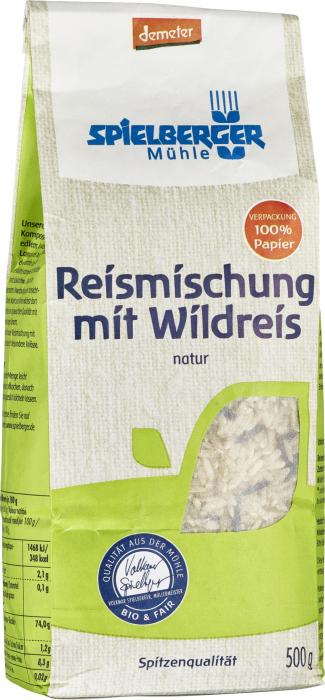 Orez amestec cu orez salbatic Demeter [0]