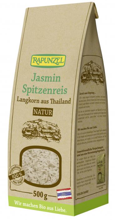 Orez bio Jasmin natur cu bob lung [0]