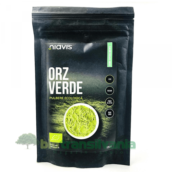 Orz Verde Pulbere BIO  125g Niavis 0
