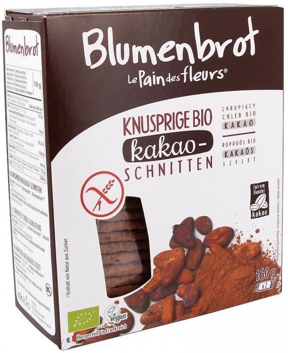 Paine bio cu cacao FARA GLUTEN [0]