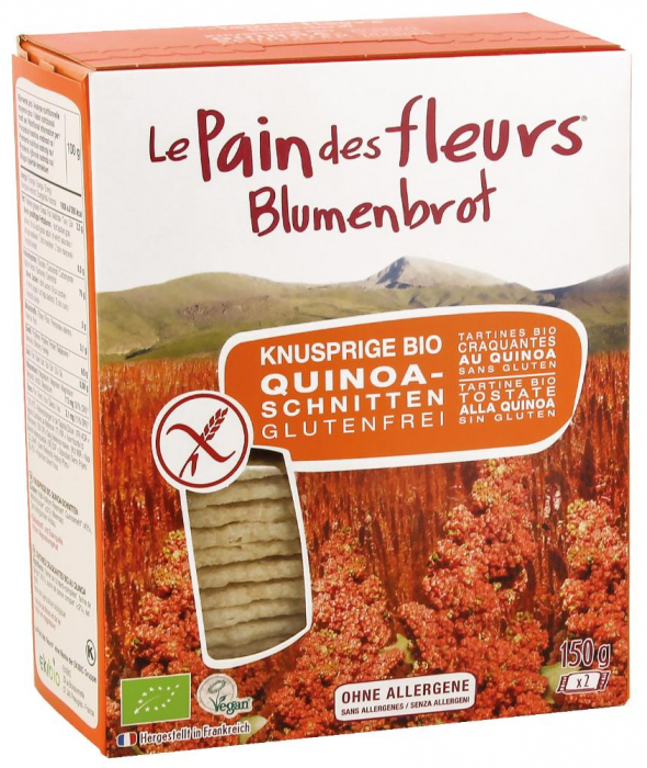Paine bio cu quinoa FARA GLUTEN [0]