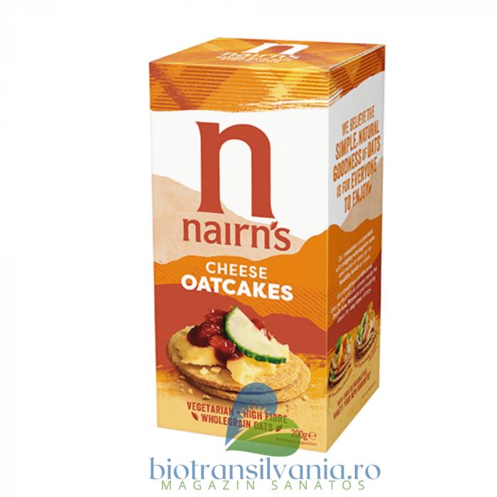 Painici din ovaz cu branza 200g Nairn's [0]