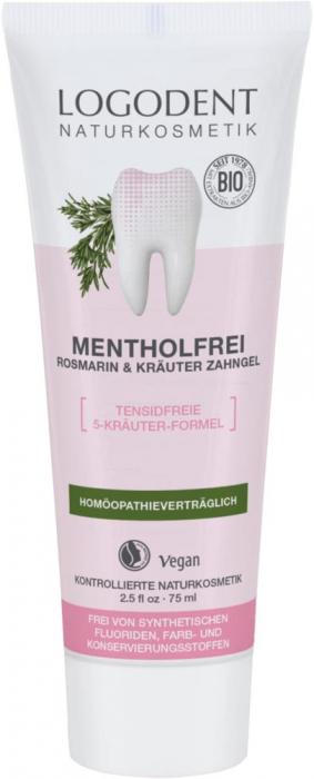 Pasta de dinti gel fara mentol cu rosmarin si plante [0]