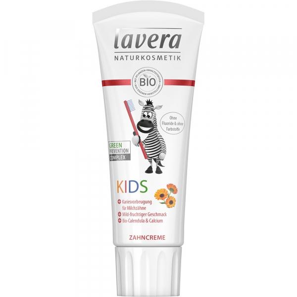 Pasta de dinti fara fluor pentru copii 75 ml Lavera [0]