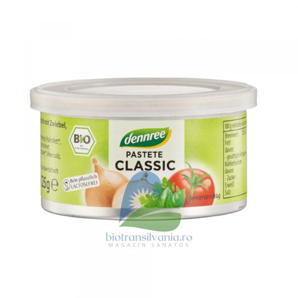 Pate vegetal classic Bio 125gr Dennree 0