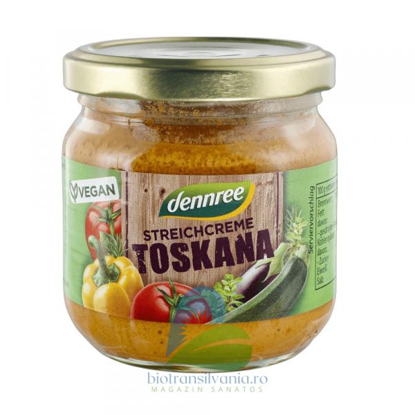 Pate BIO Vegetal Toskana, 180g Dennree [0]