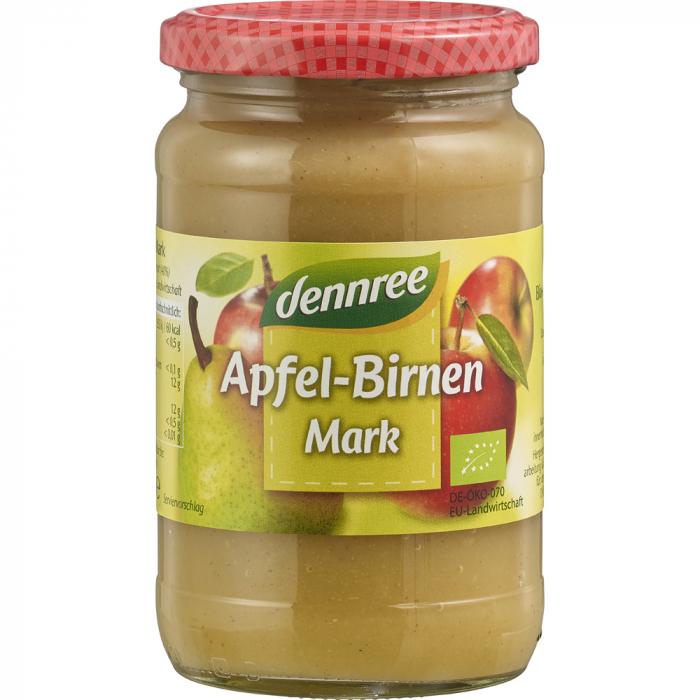 Piure de mere cu pere bio [0]