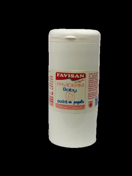 Pudra Faviderm baby cu propolis 100ml Favisan 0