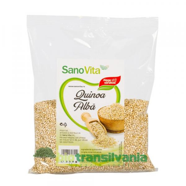 Quinoa albă 250g Sanovita 0