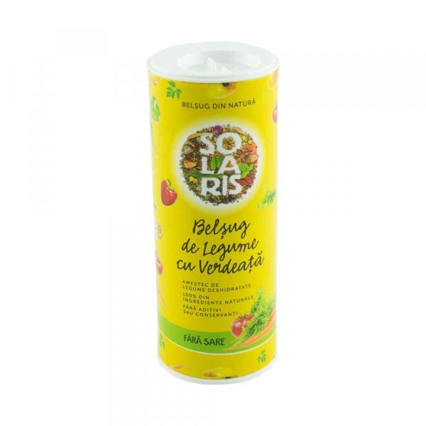 Condiment Belsug de Legume Fara Sare, 100g (tub) Solaris 0