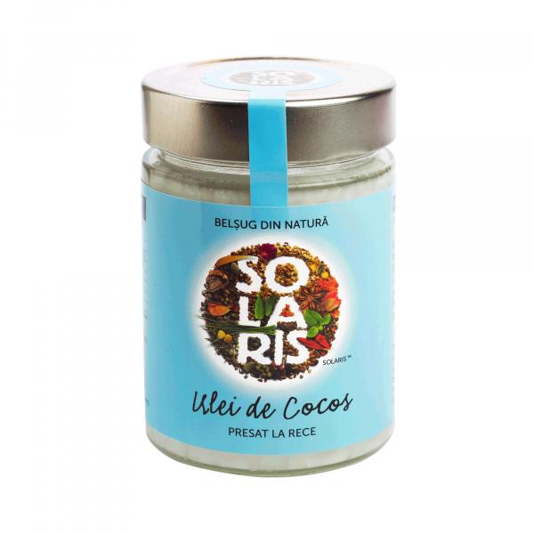 Ulei Cocos 300ml (borcan) Solaris 0