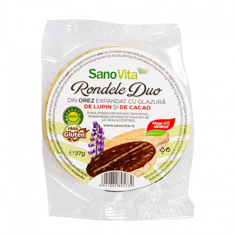 Rondele duo lupin si cacao 37g 0