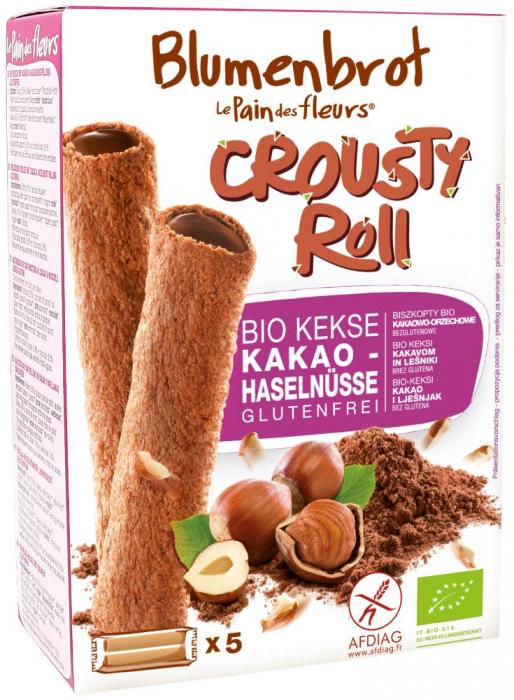 Rulouri crocante cu crema de cacao FARA GLUTEN [0]