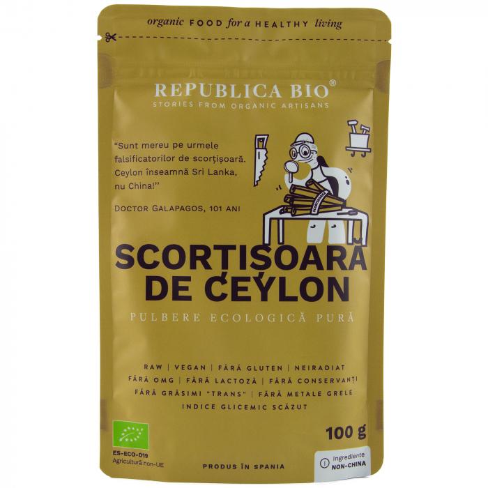 Scortisoara de Ceylon bio [0]