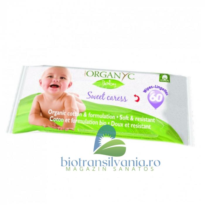 Servetele Baby Umede, 60 buc Cotton 0