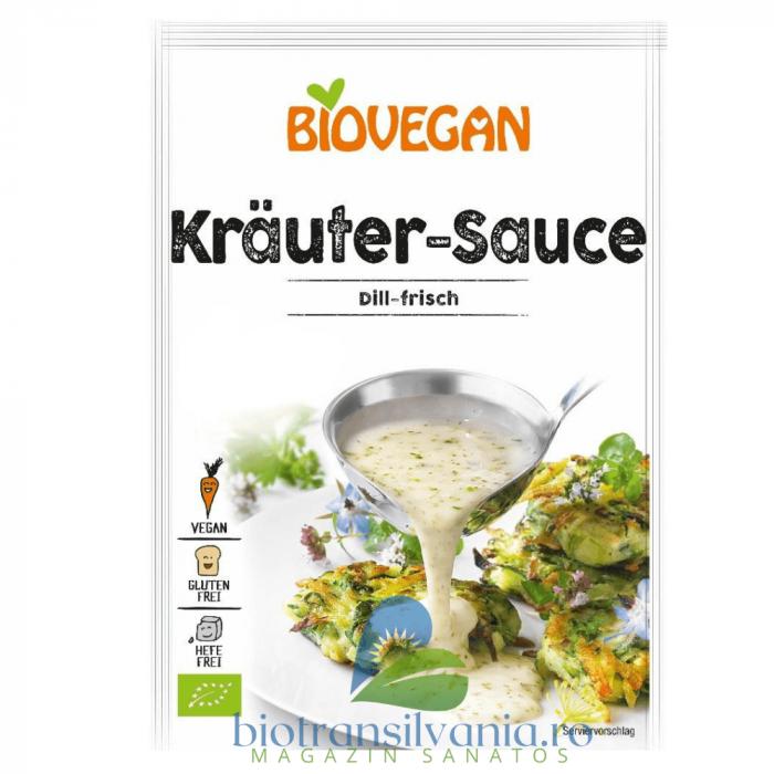 Sos BIO cu Plante Aromatice Fara Gluten, 23g Biovegan [0]