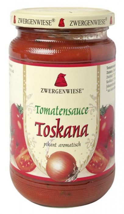Sos bio de tomate Toskana picant [0]