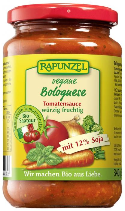 Sos de tomate Bolognese vegetarian cu soia [0]