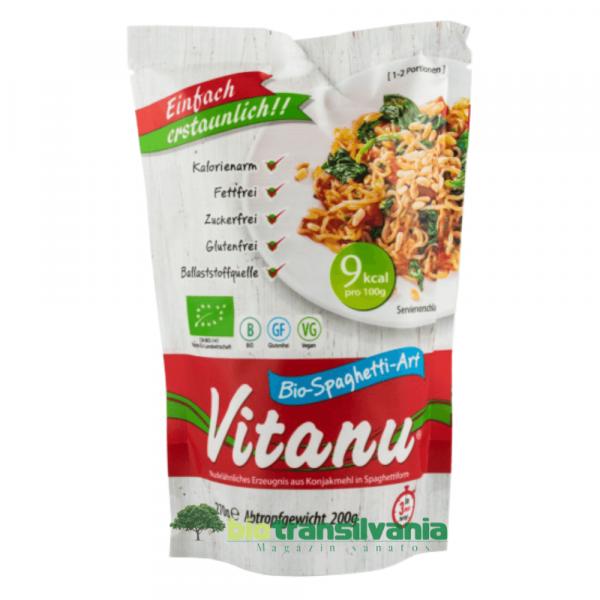 Spaghetti Bio Din  Faina De Konjac 270gr. Vitanu 0