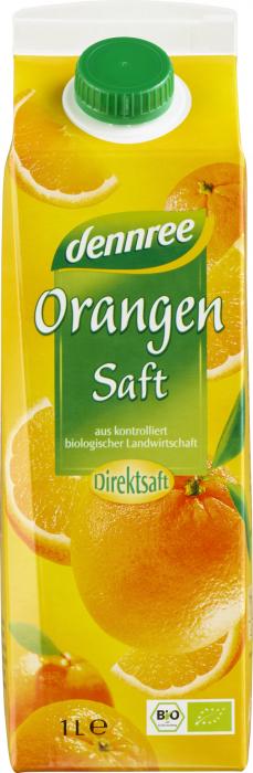 Suc de portocale ecologic 1L [0]