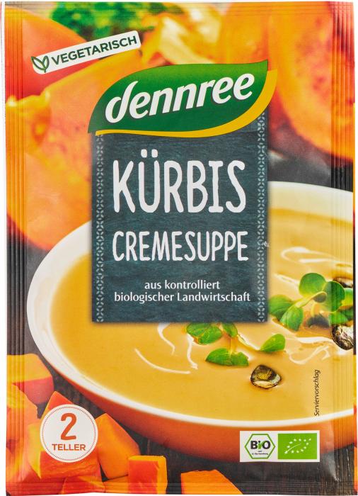 Supa crema de dovleac bio, la plic [0]