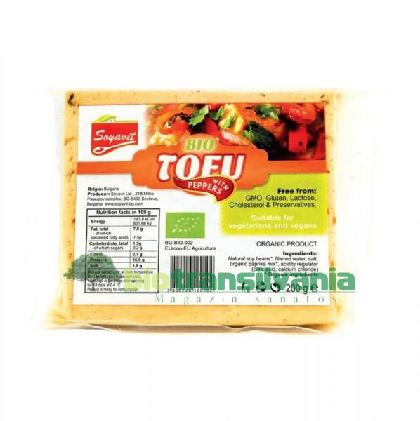 Tofu cu aredi BIO 200gr. FARA GLUTEN - Soyavit 0