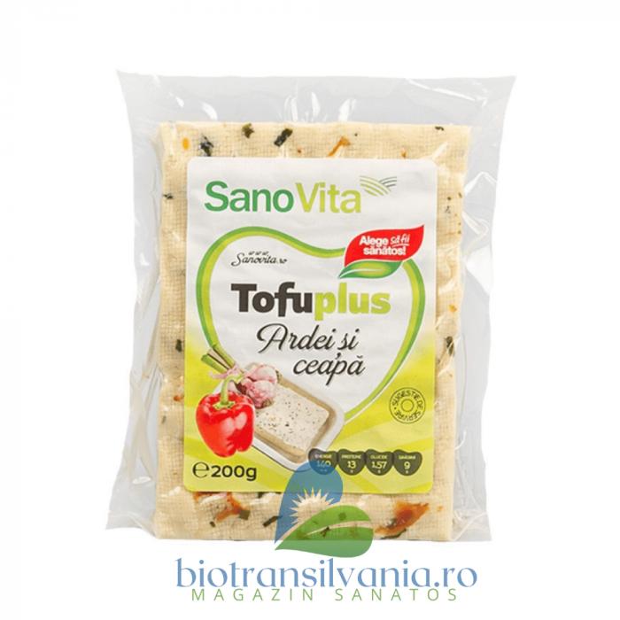 Tofu cu Ardei si Ceapa, 200g SanoVita 0