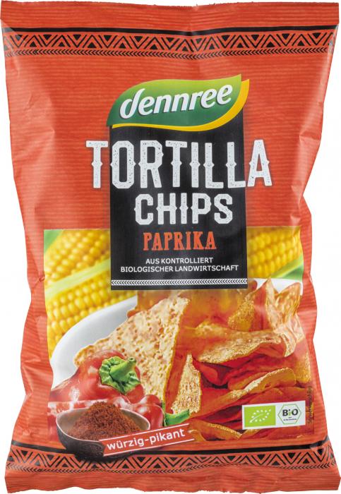 Tortilla chips cu ardei eco [0]