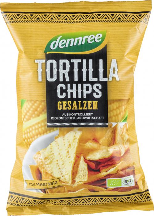Tortilla chips cu sare eco [0]