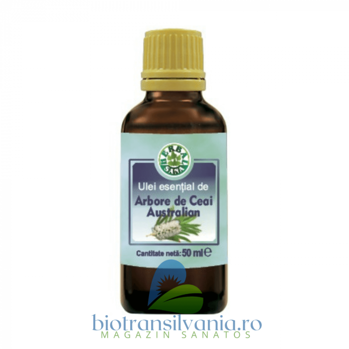 Ulei Esential de Arbore de Ceai Australian, 10ml Herbalsana 0