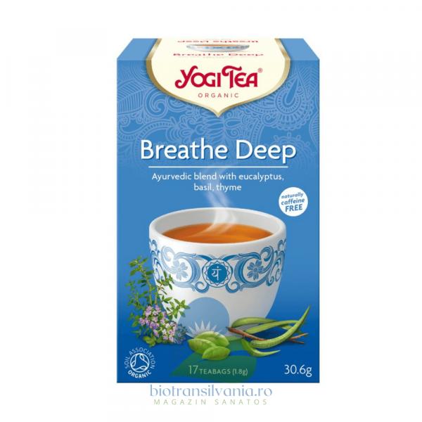 Ceai BIO respiratie profunda, 30.6GR Yogi Tea 0