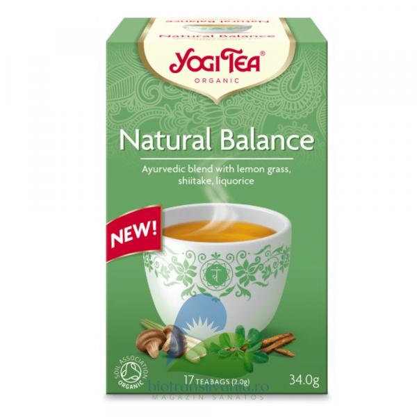 Ceai BIO Natural Balance 17 pliculete, 34g Yogi Tea 0