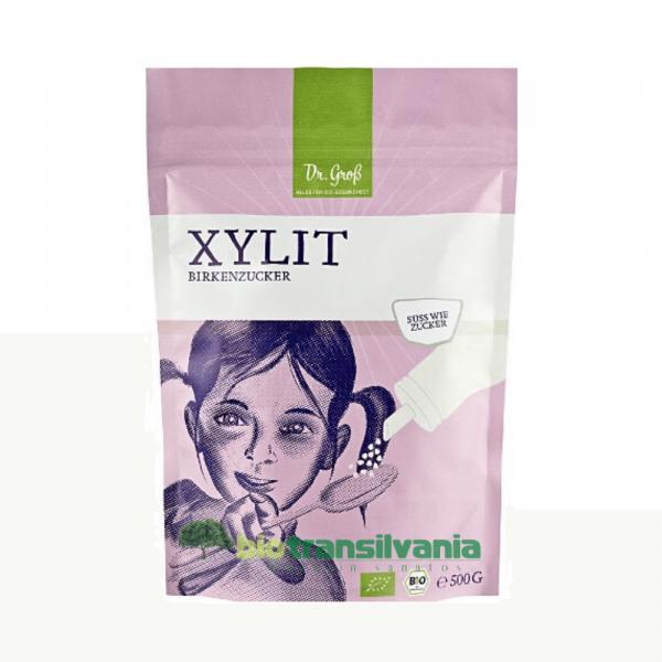 Zahar de mesteacan Bio Xilitol, 500g Dr. Groß 0