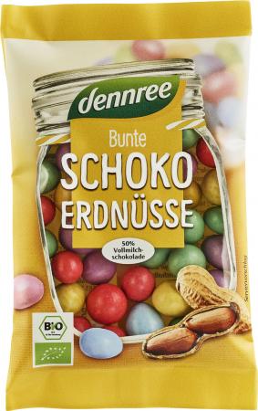 Arahide colorate cu ciocolata de lapte eco