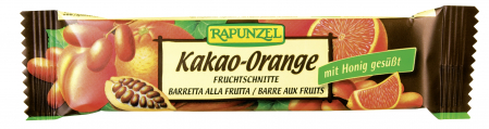 Baton de Fructe cu Cacao si Portocale Bio
