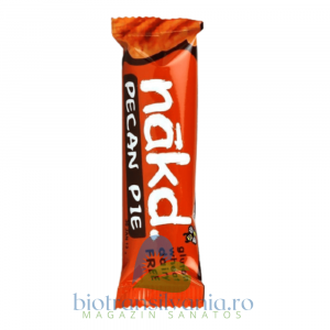 Baton raw-vegan cu nuci pecan (fara gluten) 35g Nakd0