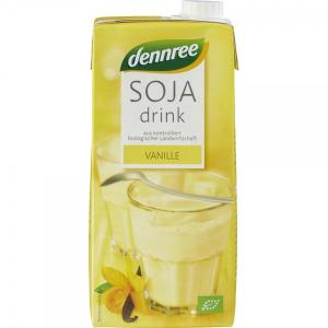 Lapte BIO de Soia cu Vanilie, 1L Dennree