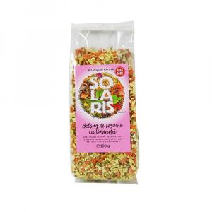 Condiment Belsug de Legume cu Verdeata si Sare Himalaya, 100g (punga) Solaris