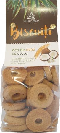 Biscuiti de ovaz cu cocos
